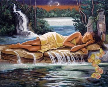 Agua Dulce Oshun Asleep