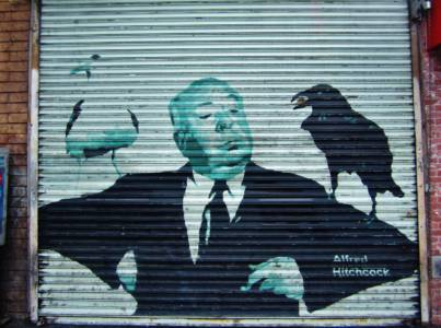 Alfred  Hitchcock - Artist Unknown - Los Angeles, USA