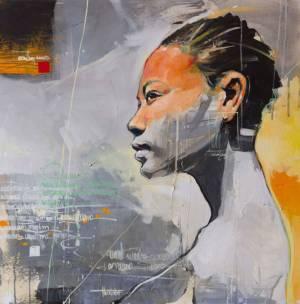 Bocetos Fragiles 1 | 24x24 cm
