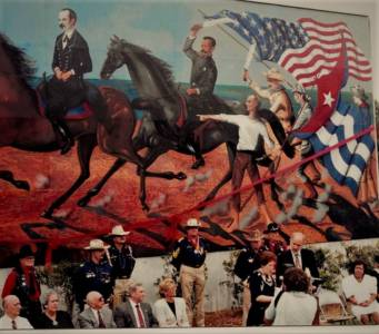Dedication Of Jose Rodeiro Mural
