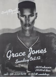 Grace Jones Poster Rudely Elegant