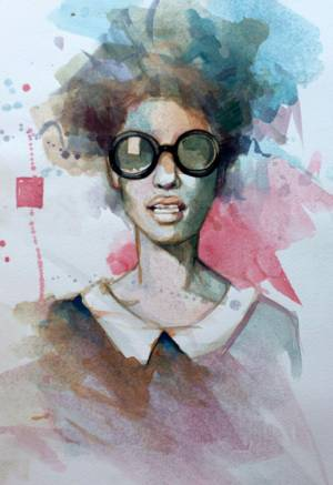 Fashion | 16x11 cm | Watercolor
