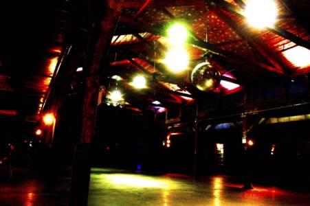 Knockdown Center Disco Ball