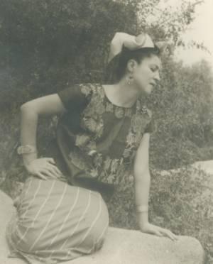 Olga Tamayo, 1940s, Gelatin Silver Print,  10 X 8