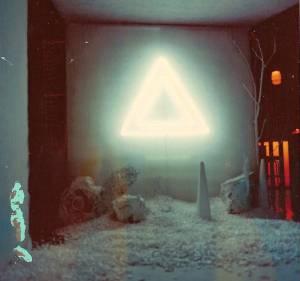 Neon Triangle Installation