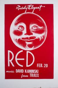 Red Party 1982 Poster