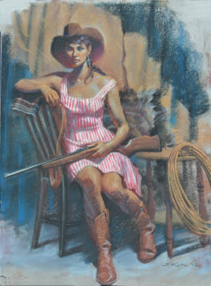Scotsdale Cowgirl