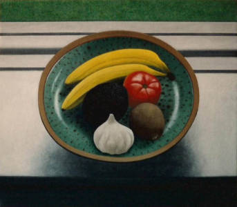 Still Life with Avacado  | 14 x 16 | 1993