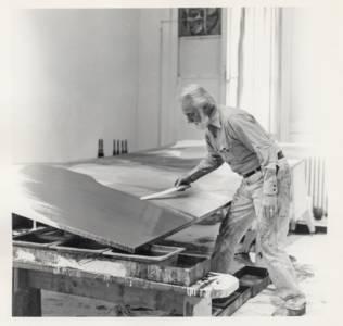 Paul Jenkins at work