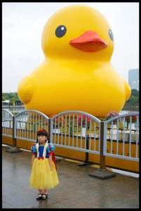 Snow White and the Duck.
