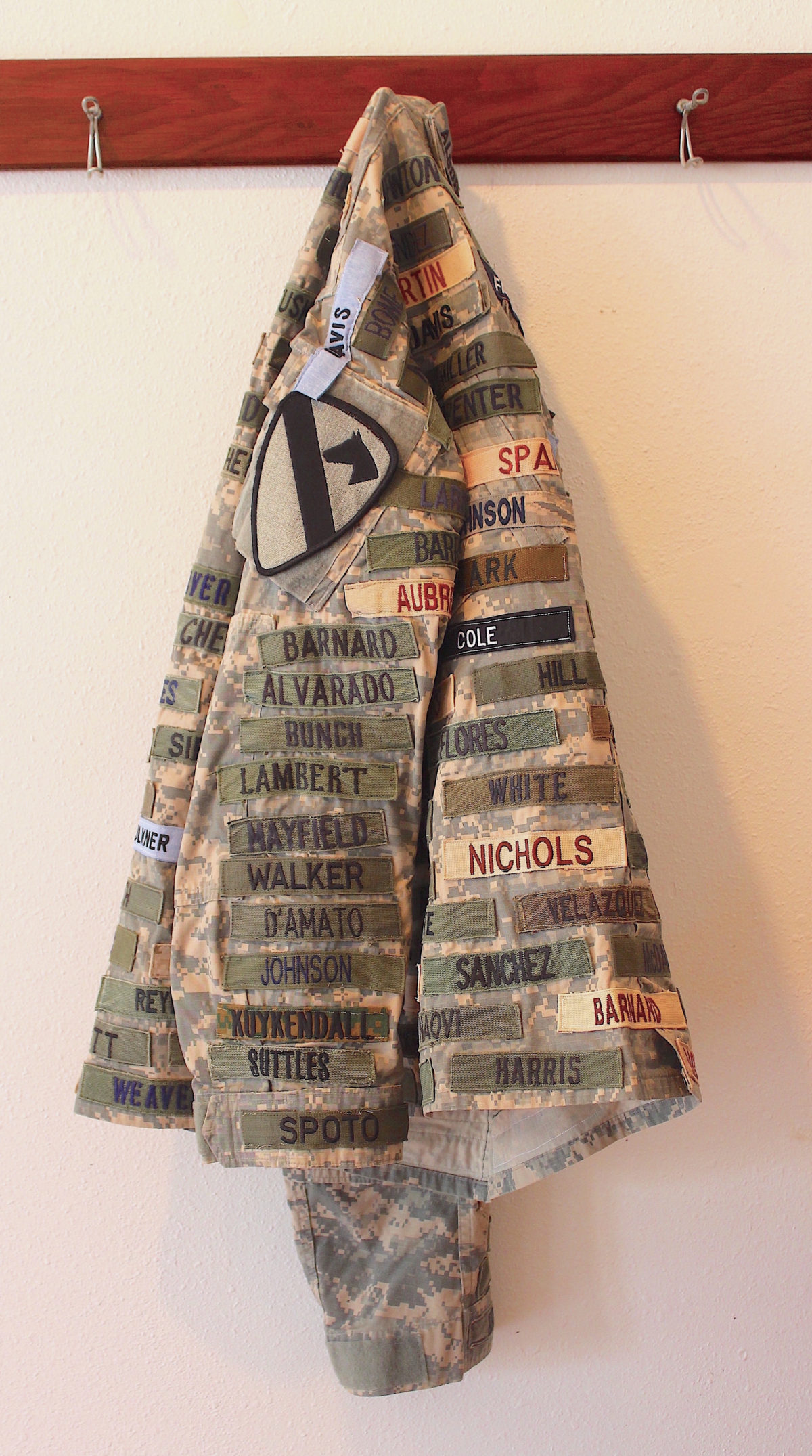 Soldier's Jacket, Mixed Media, Maria-Cristina Jadick