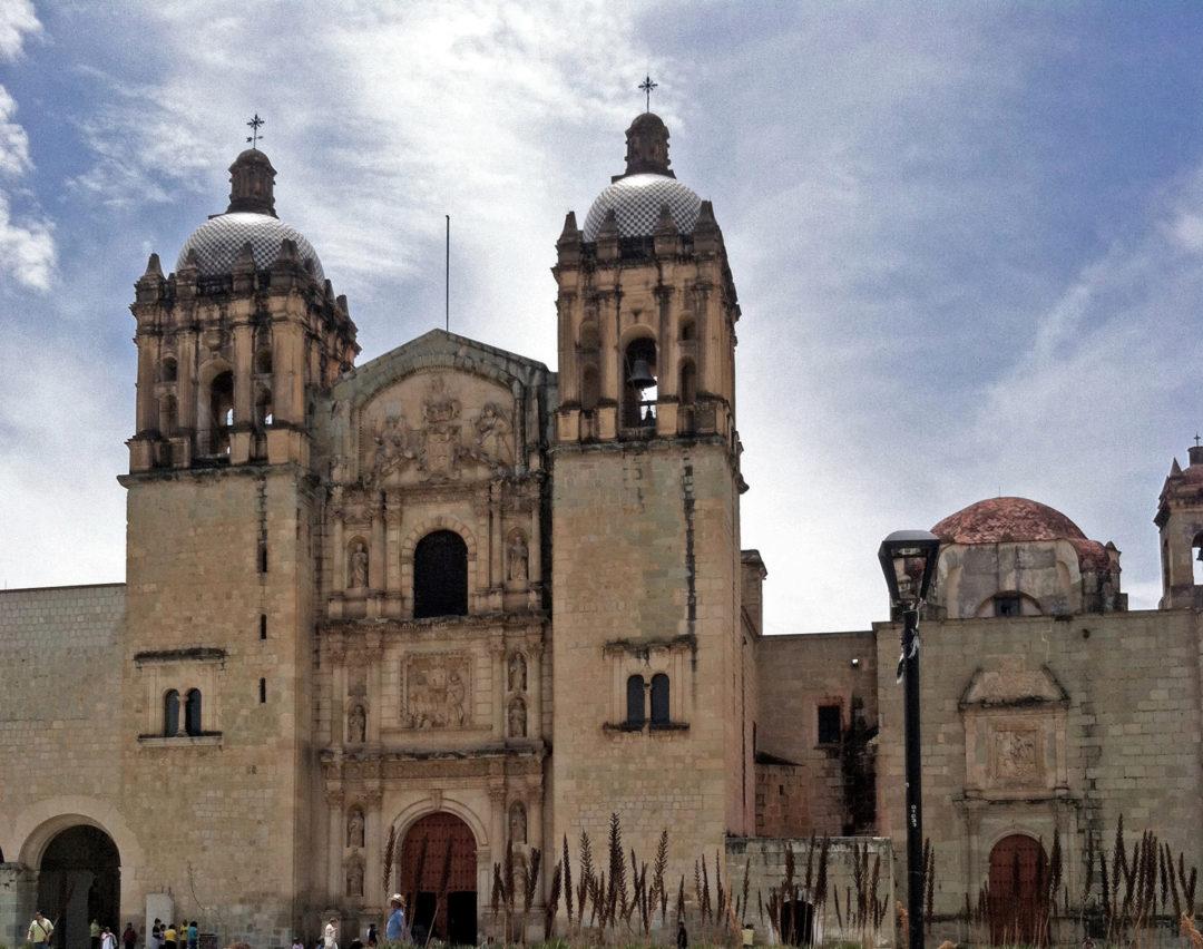 Santo Domingo church in Oaxaca.