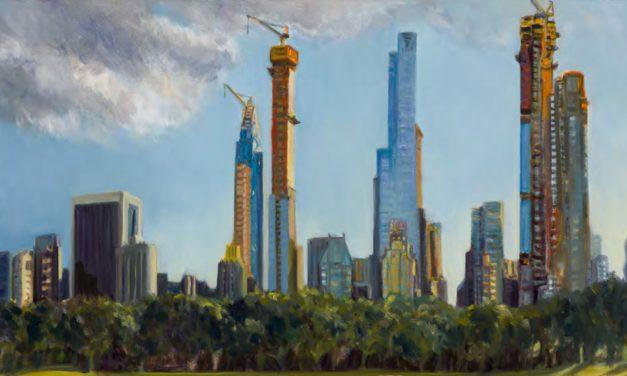 Gwyneth Leech: Construction Sites/Works on Paper